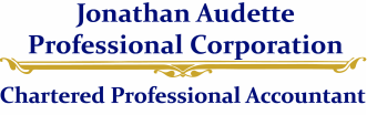 JONATHAN AUDETTE PROFESSIONAL CORPORATION<br />CHARTERED PROFESSIONAL ACCOUNTANT